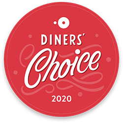 Open Table Diner's Choice Award 2020